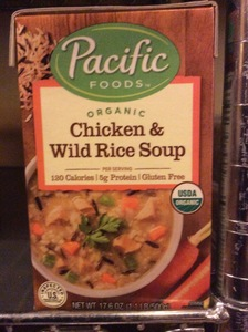Soup Pacific Natural Foods Soup Chicken & Wild Rice